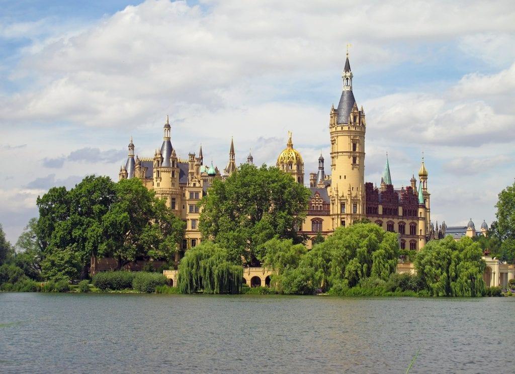 Zamek Schwerin, Niemcy