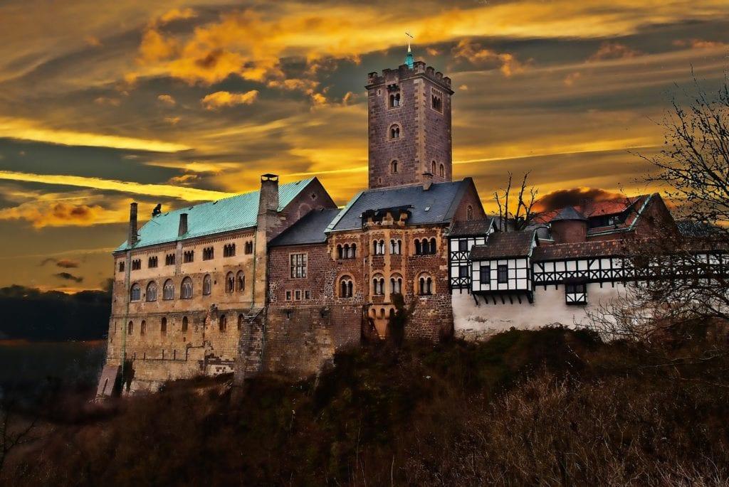 Zamek Wartburg, Niemcy