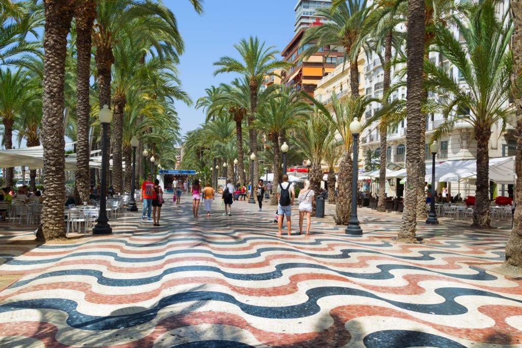 Promenada w Alicante