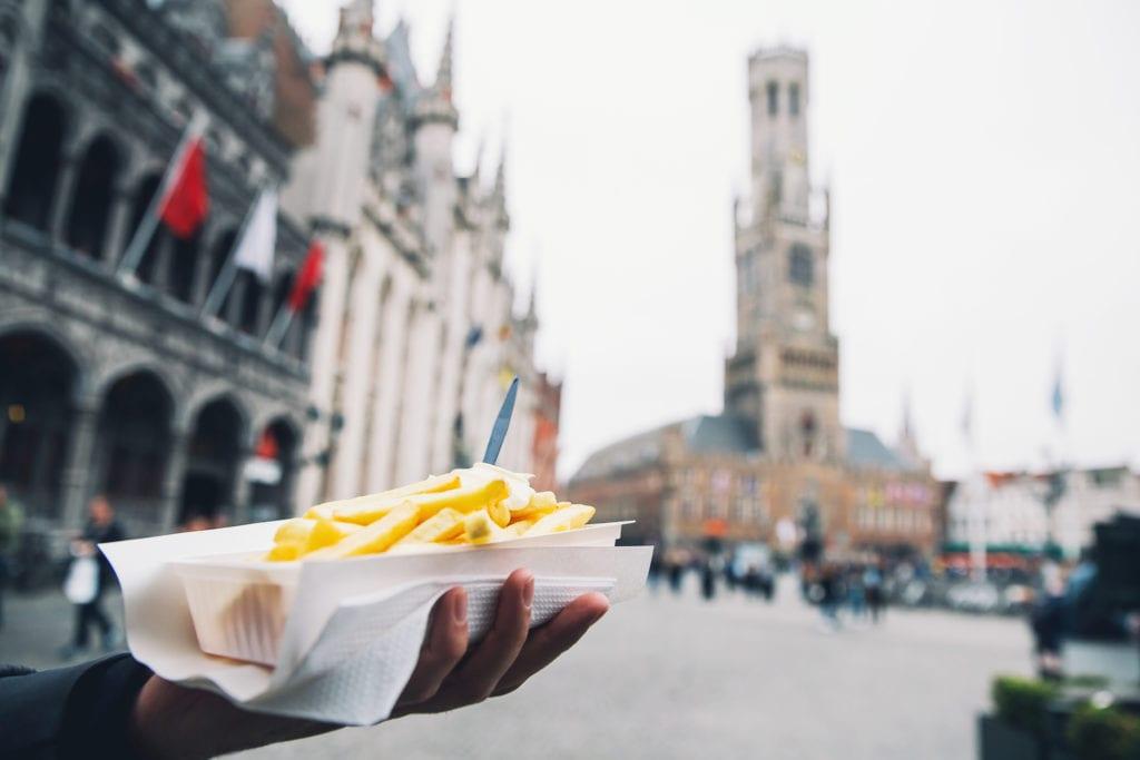 Belgijskie frytki