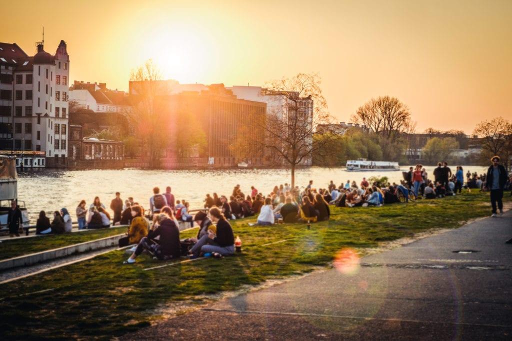 Berlin jest miastem w którym dobrze czuja się młodzi ludzie,