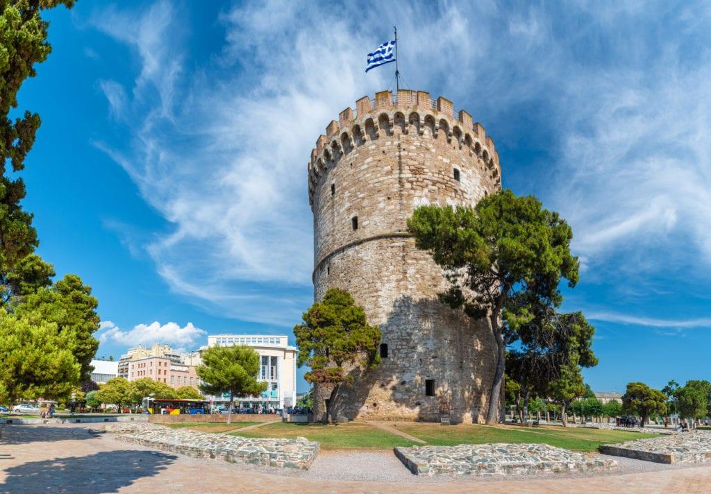 Biała Wieża, Saloniki
