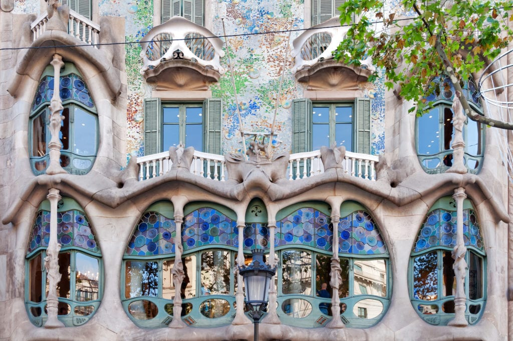 Casa Batlló w Barcelonie, Hiszpania