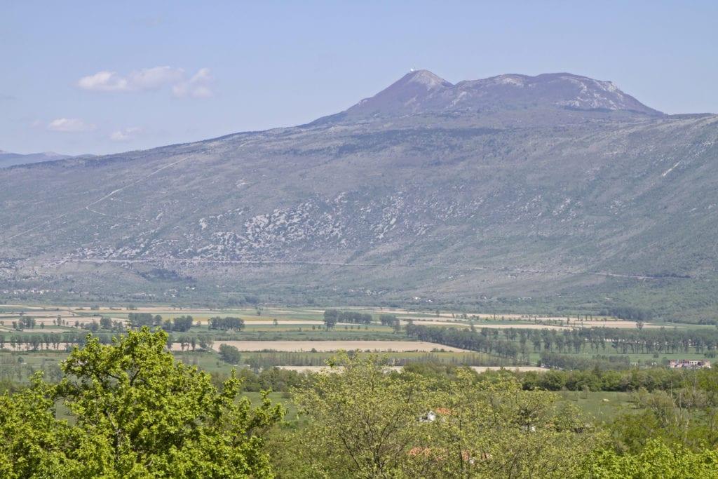 Park przyrody Ucka, szczyt Vojak, Istria