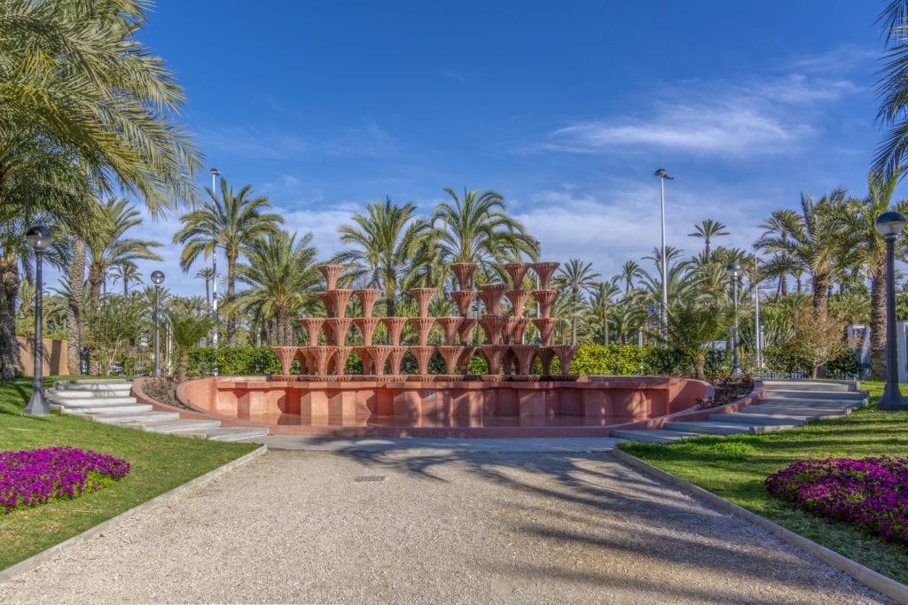 Palmeral de Elche, niedaleko Alicante