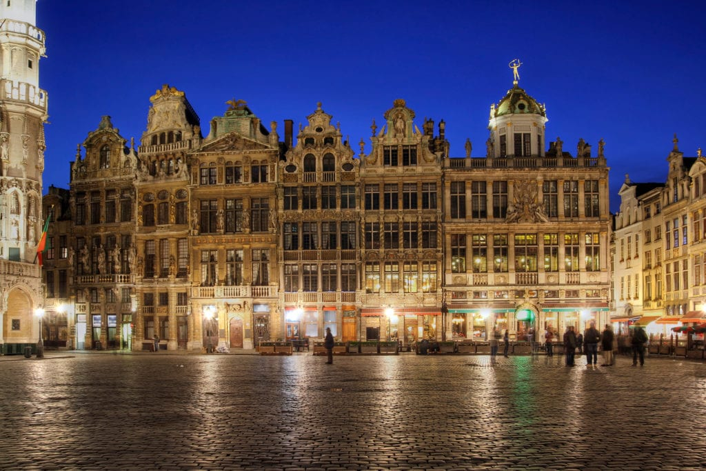 Grand Place to historyczne centrum Brukseli, Belgia