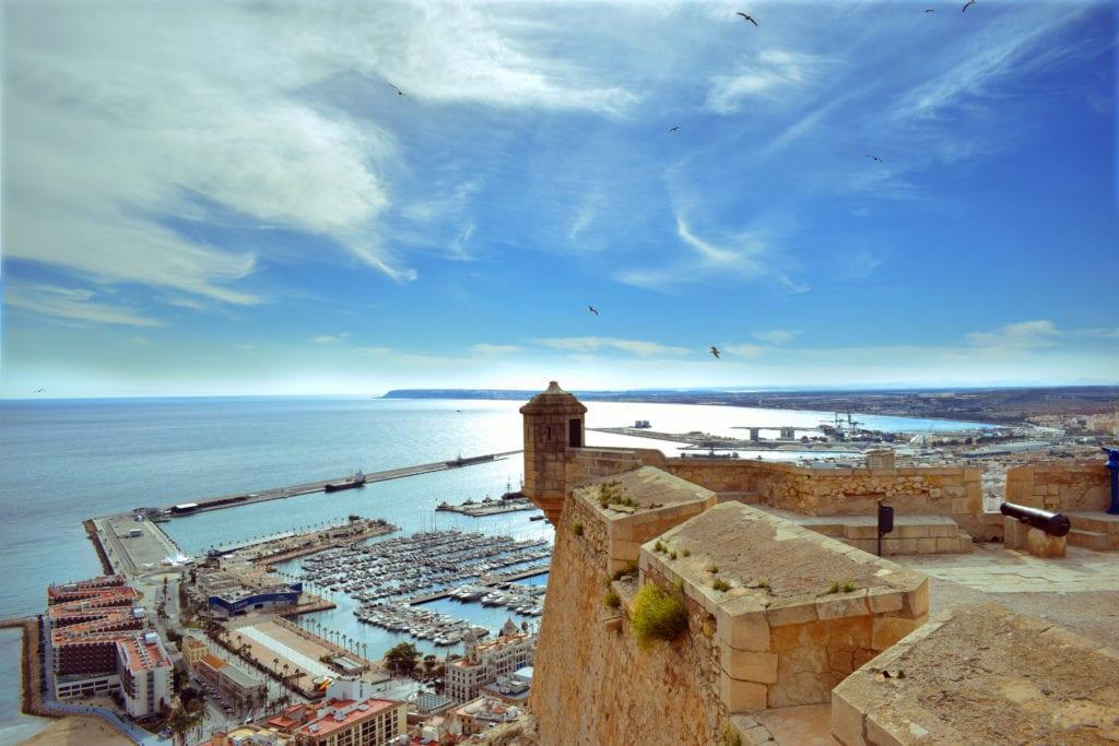 Zamek Świętej Barbary, Alicante