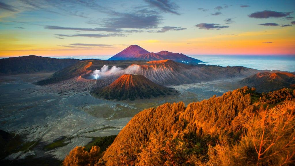 Wulkan Bromo Jawa Indonezja