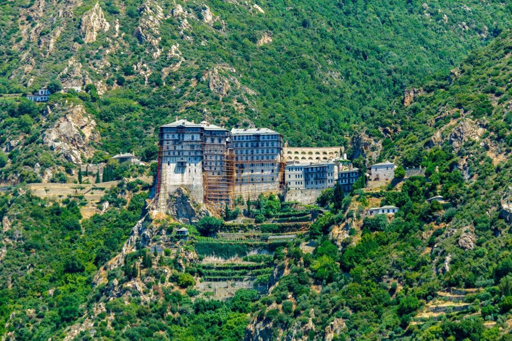 Klasztor Simonopetra na cyplu Athos, Chalkidiki