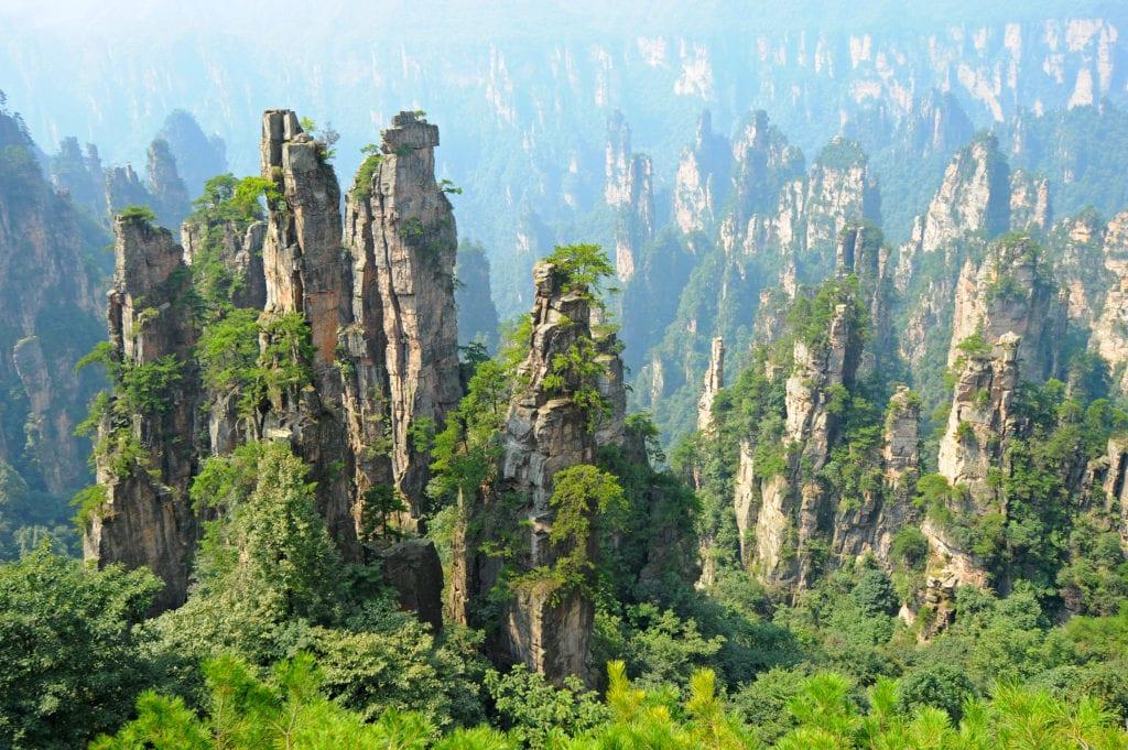 Narodowy Zhangjiajie Chiny Avatar