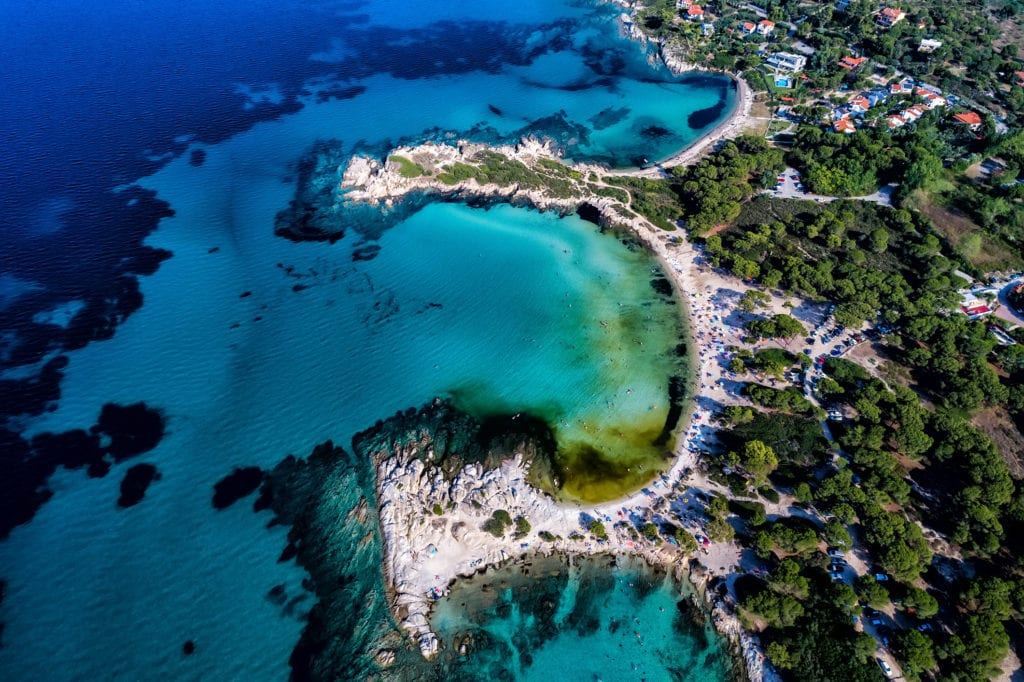 Plaża Karidi, Chalkidiki