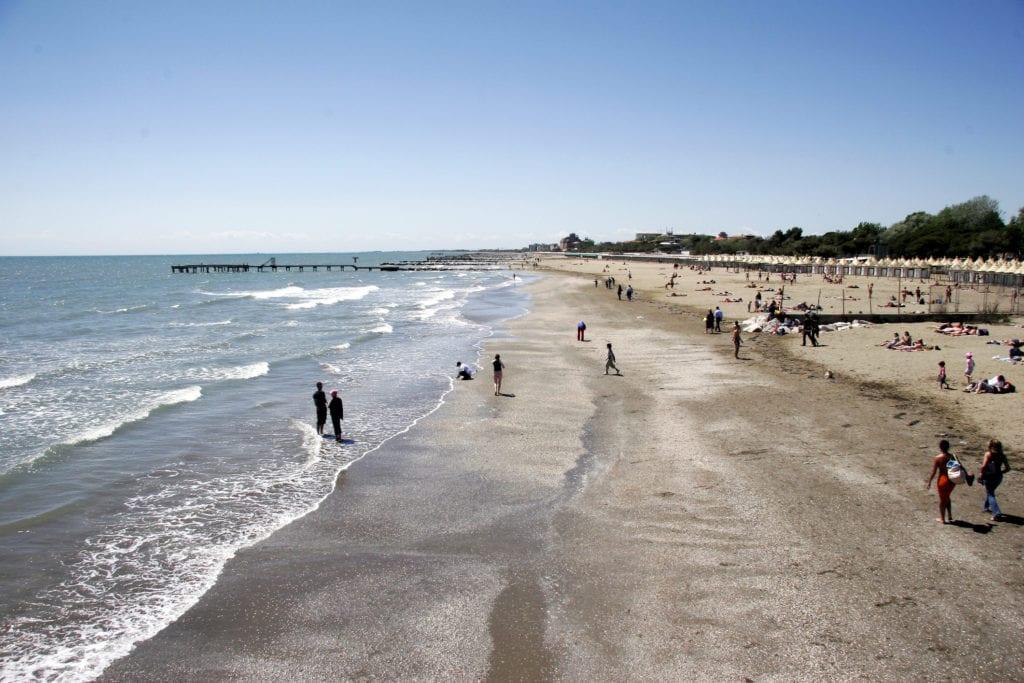 Plaża Lido, niedaleko Wenecji