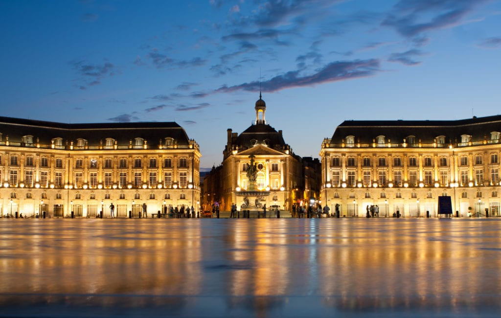 Place de la Bourse, Bordeaux Francja