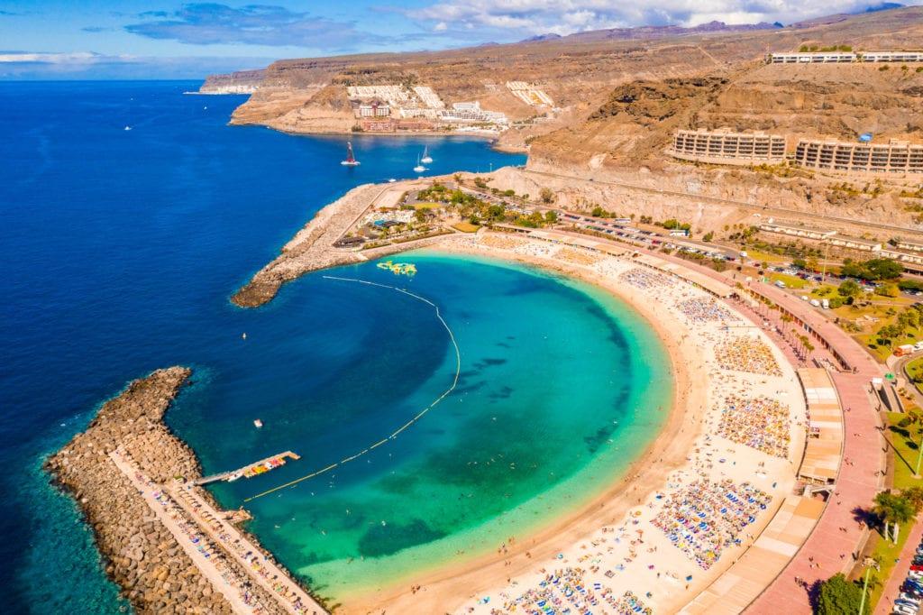 Playa Amadores, Gran Canaria,