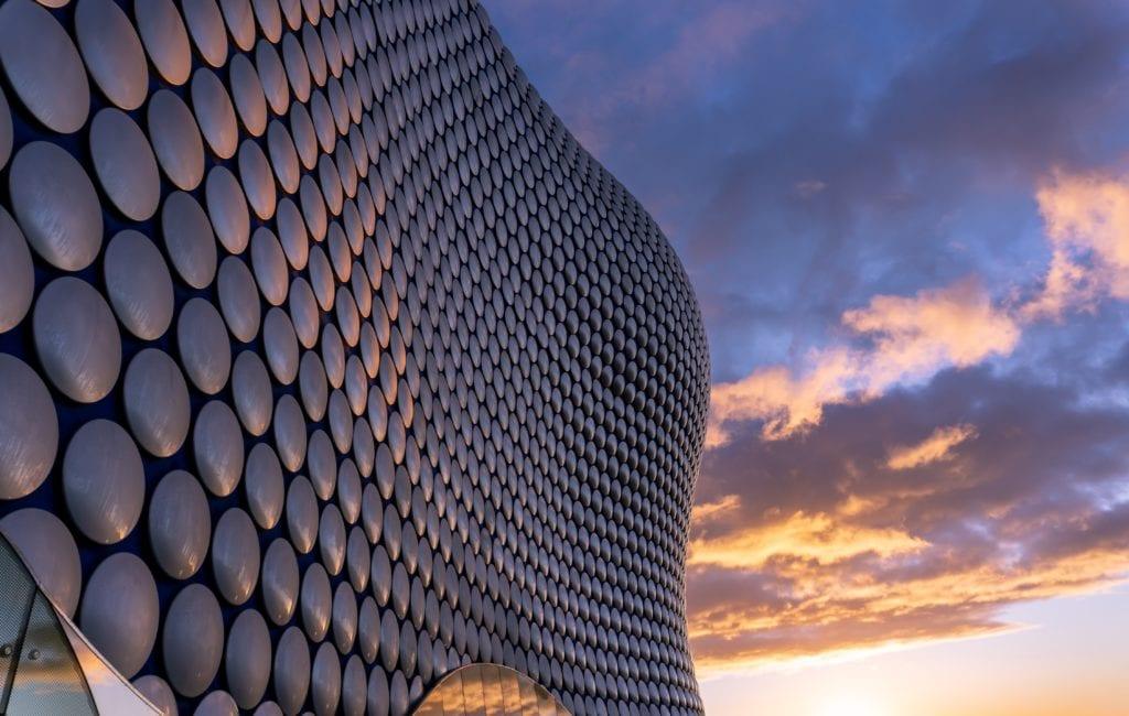 The Bull Ring w Birmingham,