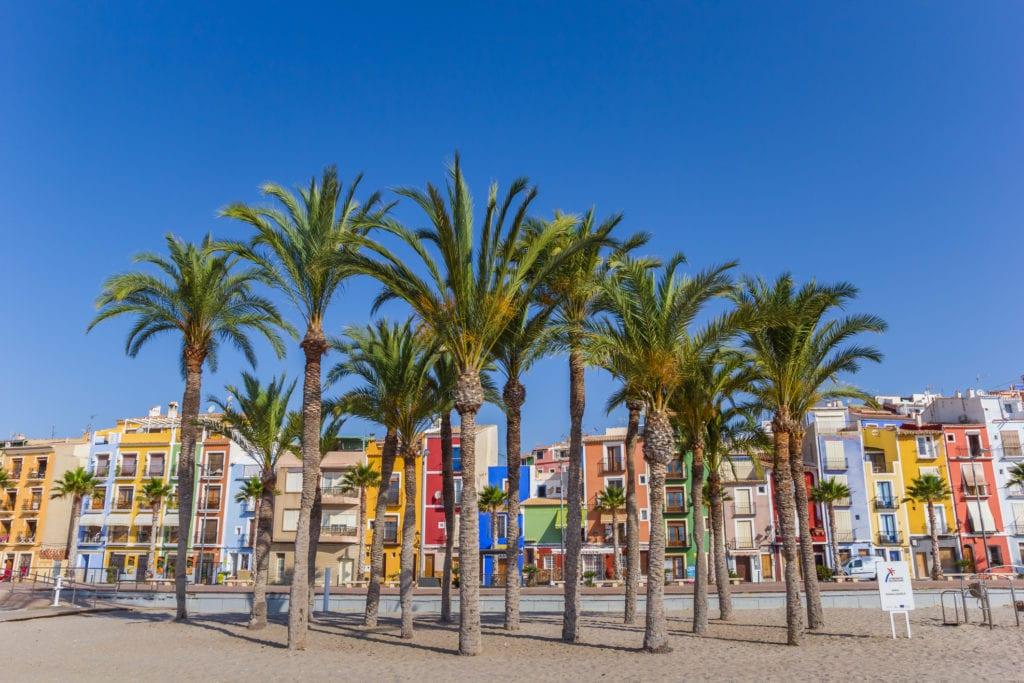 Villajoyosa, niedaleko Alicante