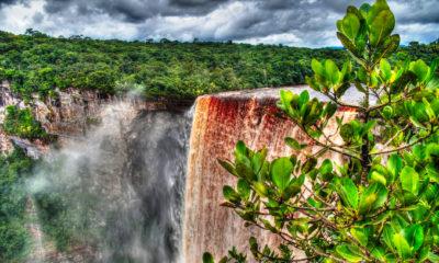 Wodospad Kaieteur w Gujanie