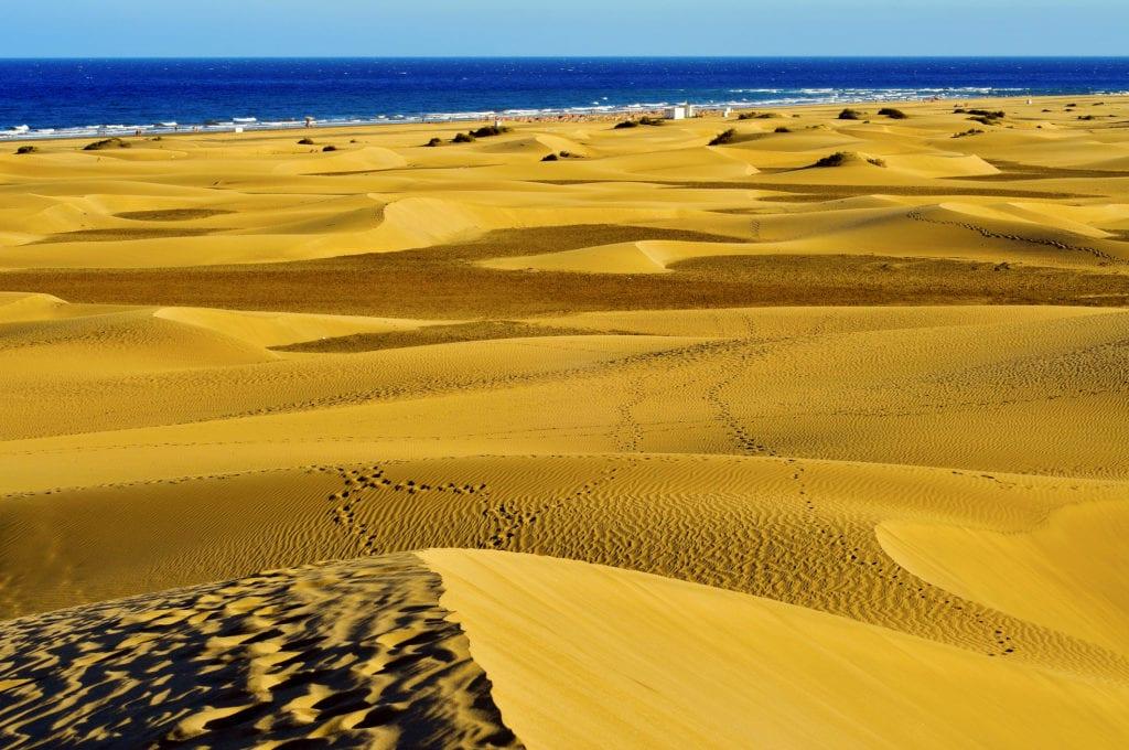Wydmy Maspalomas. Gran Canaria