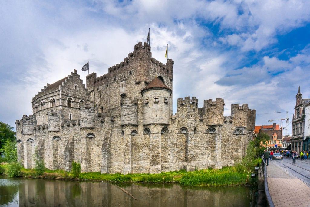 Zamek Gravensteen, Belgia
