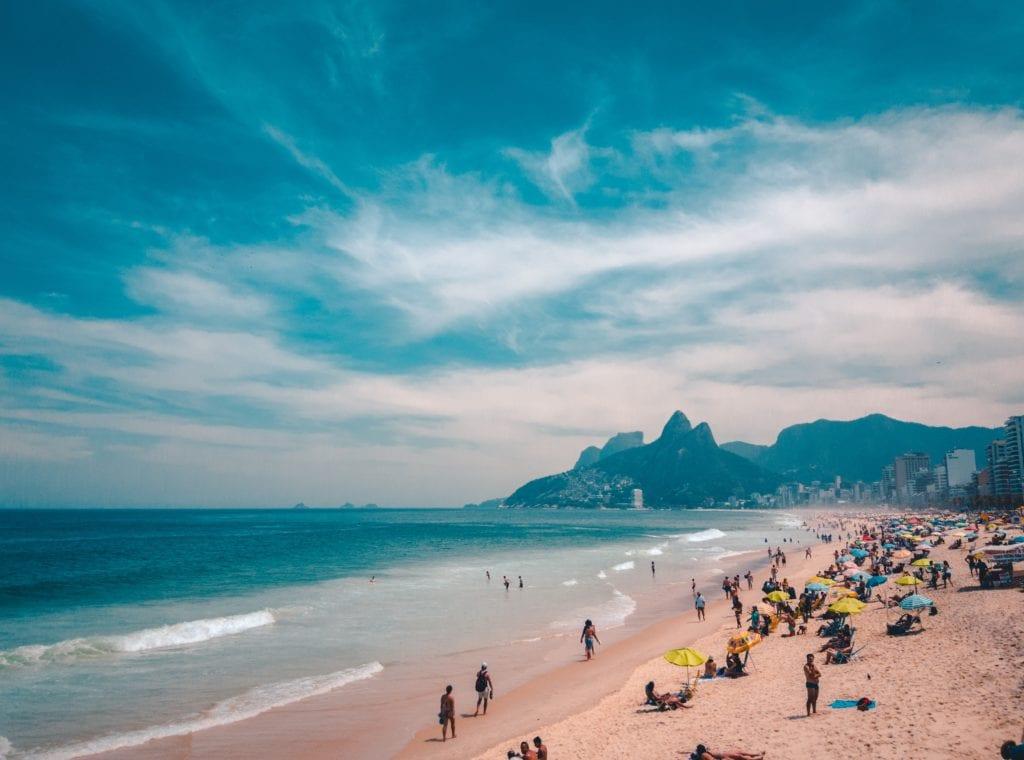 Plaża w Rio de Janeiro