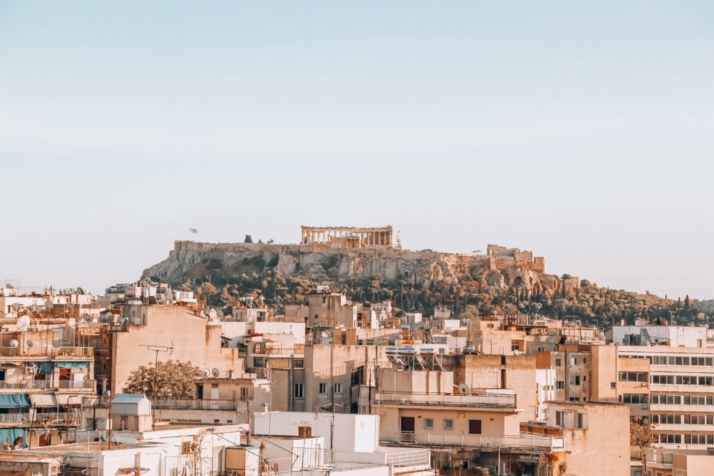 Akropol w Atenach, Grecja