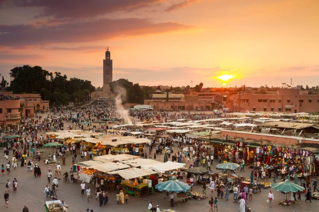 Plac Dżami al-Fana, Marrakesz Maroko