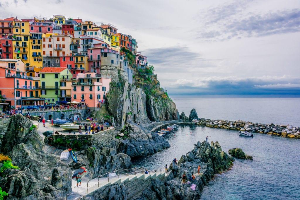 Manarola, Cinque Terre Włochy