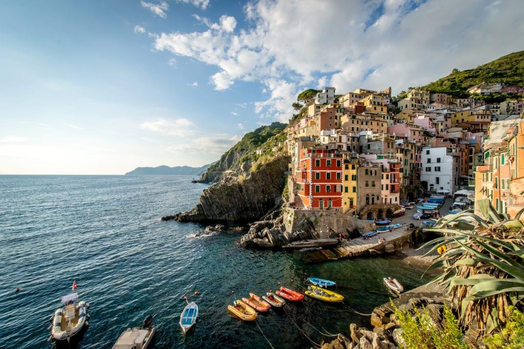 Riomaggiore Cinque Terre Włochy