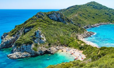 Plaże w Porto Timoni, Kreta