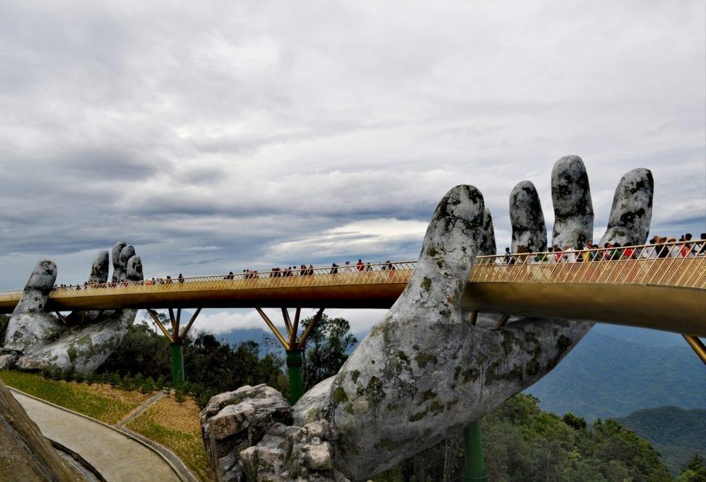 Złoty Most, Da Nang środkowy Wietnam