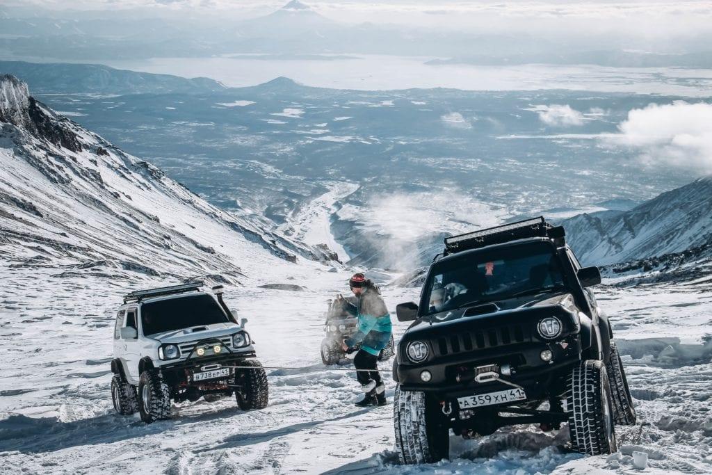 Stratowulkan Awaczyńska Sopka na Półwyspie Kamczackim, Kamczatka