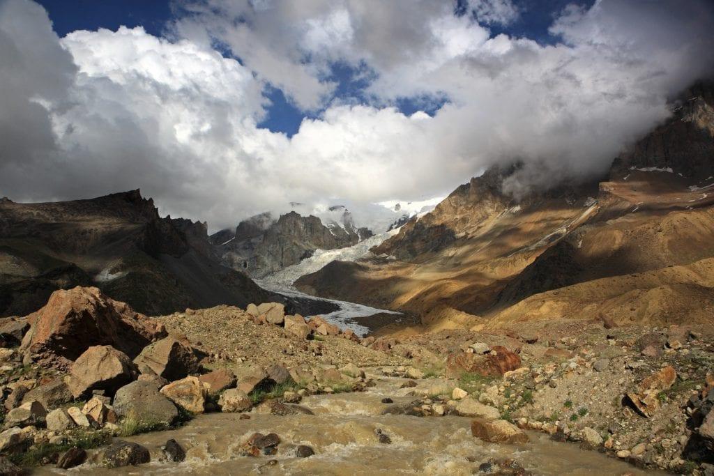 W drodze na Elbrus, Rosja