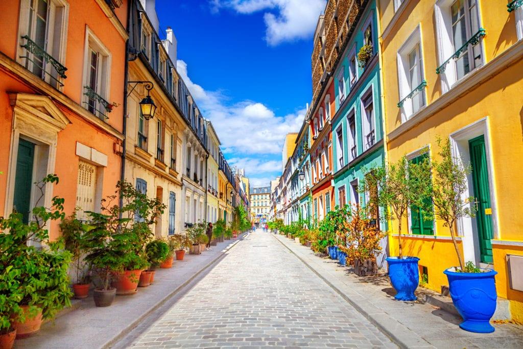 Ulica Rue Crémieux w Paryżu,