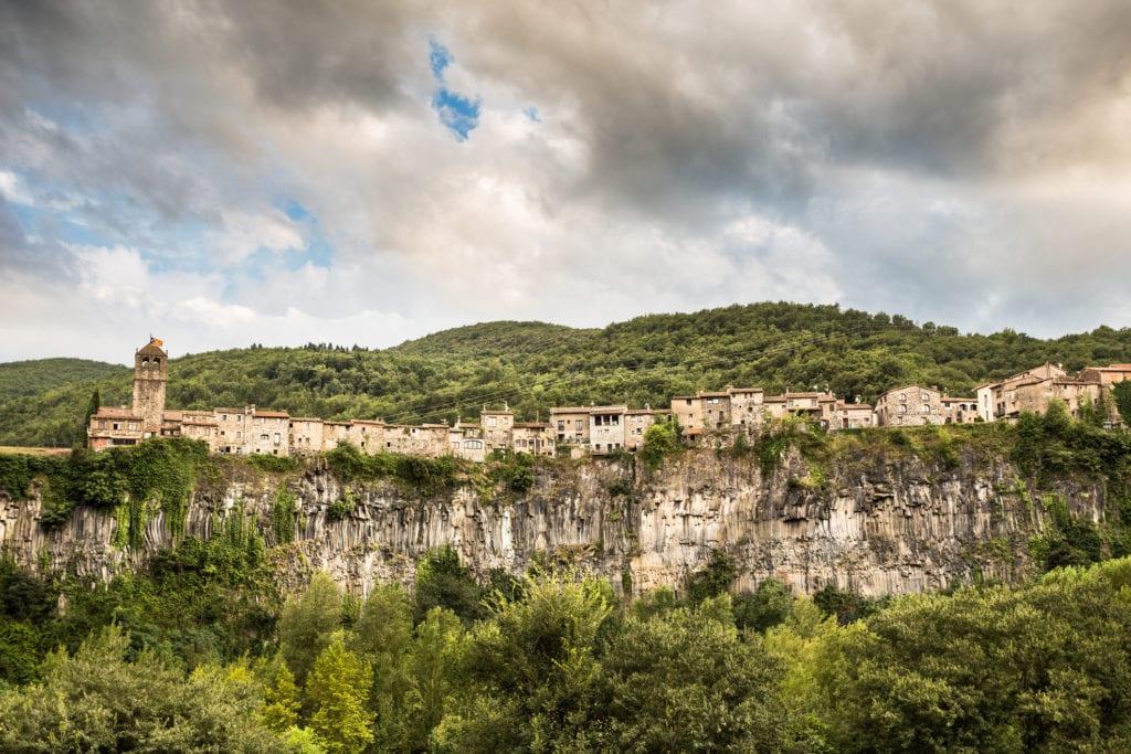 Castellfollit de la Roca katalonia