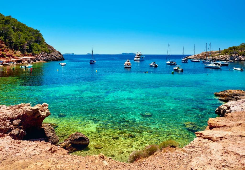 Laguna Cala Salada Ibiza