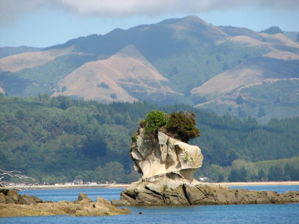 Wybrzeże Parku Abel Tasman,