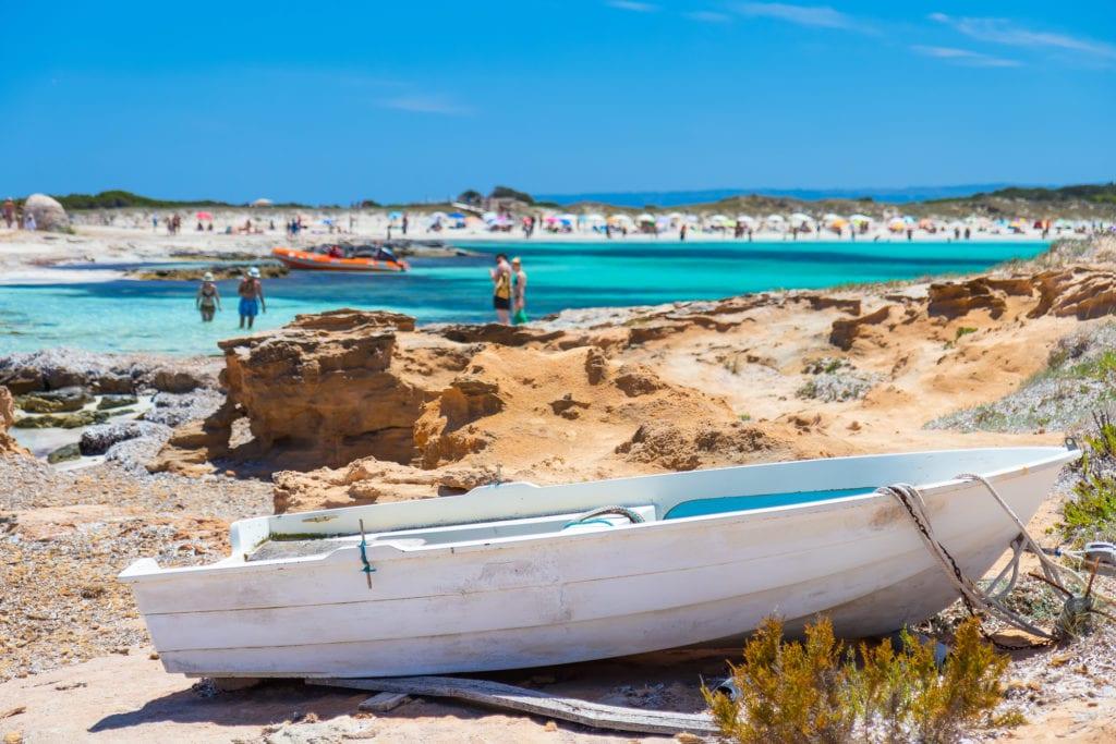 Piaszczyste plaże na Formenterze