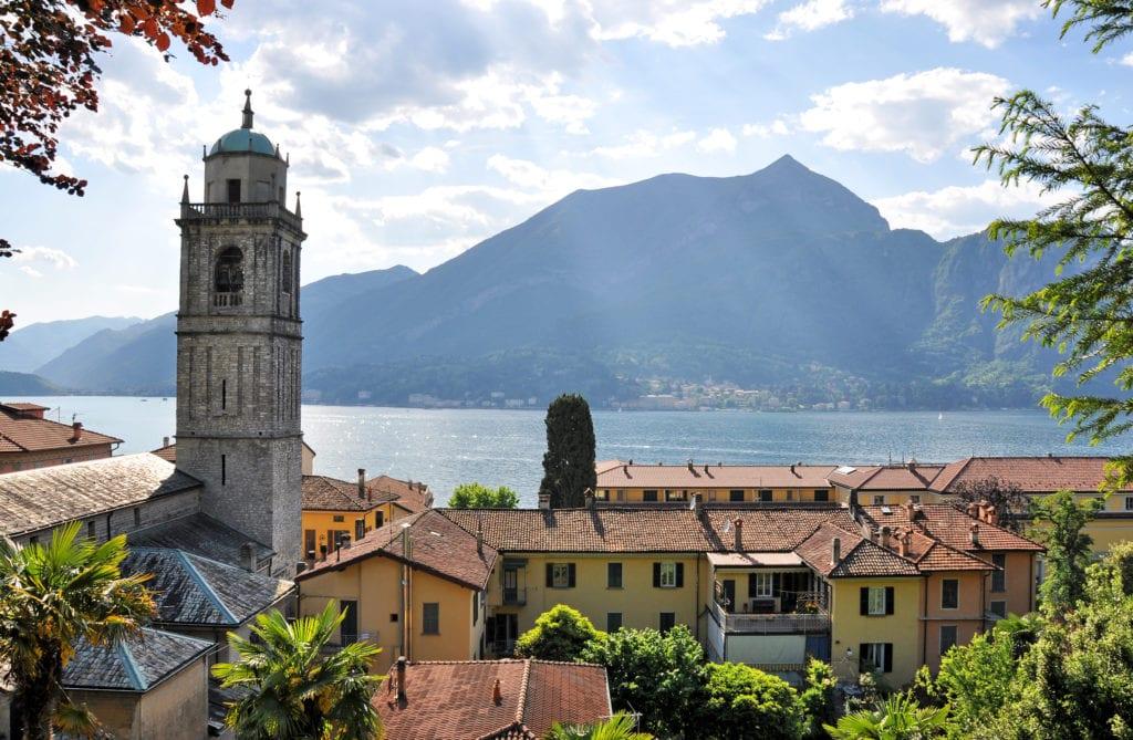 Bellagio, nad Jeziorem Como, Włochy