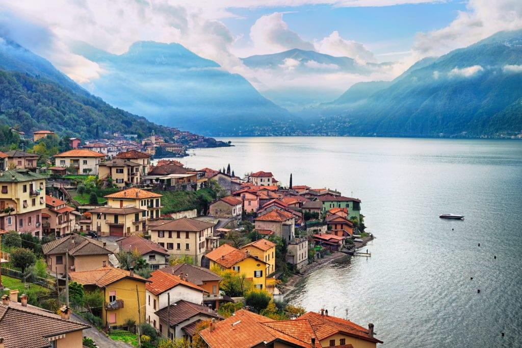 Jezioro Como Lombiardia