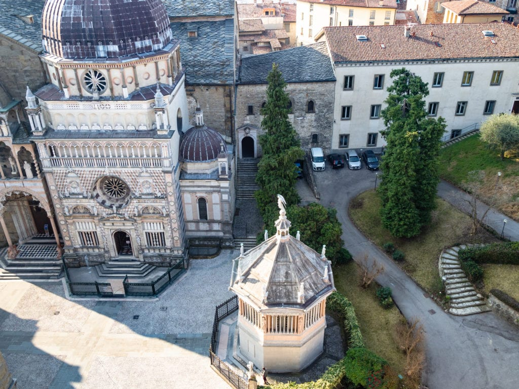 Kaplica Colleoni, Bergamo