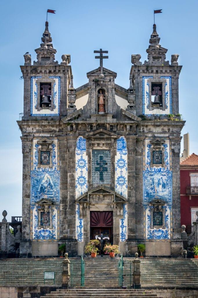 Kościół św. Ildefonsa, Porto