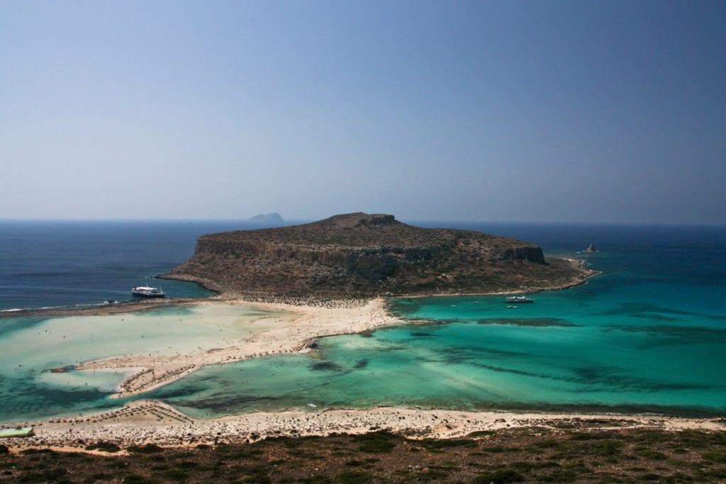 Laguna Balos, Kreta, Grecja