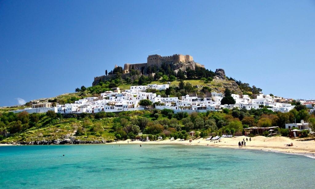 Lindos, Rodos, Grecja