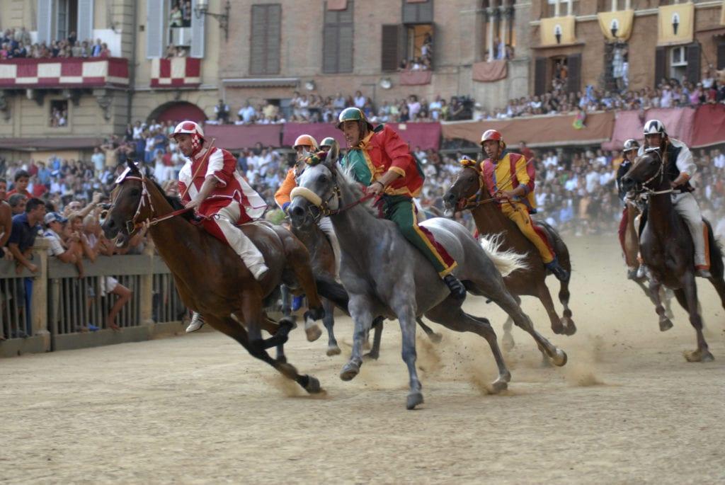 Palio w Sienie