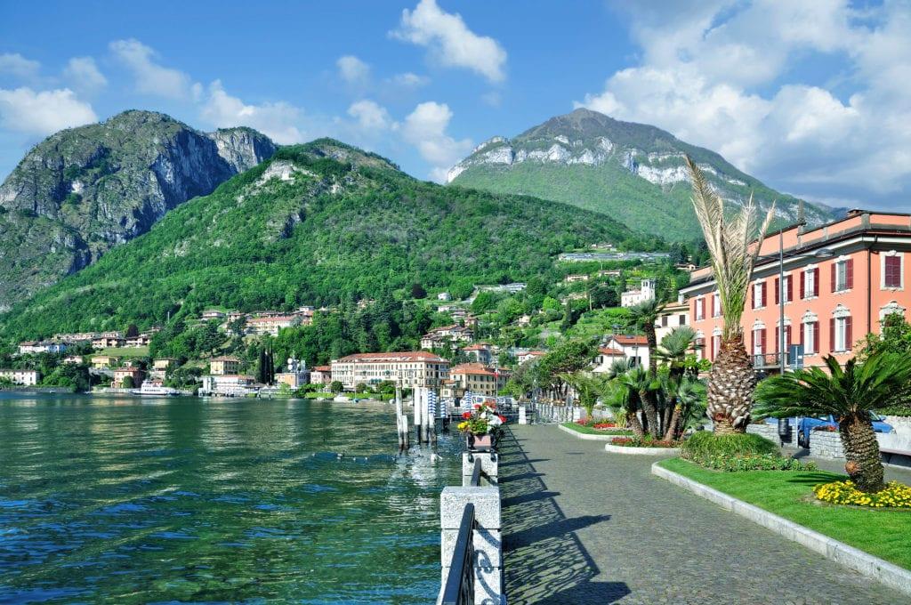 Menaggio nad Jeziorem Como, Włochy