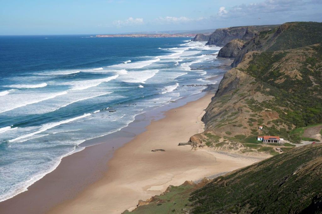 Plaża Cordoama niedaleko Vila do Bispo