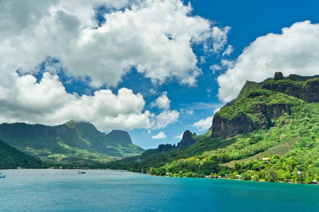 Moorea, Polinezja Francuska