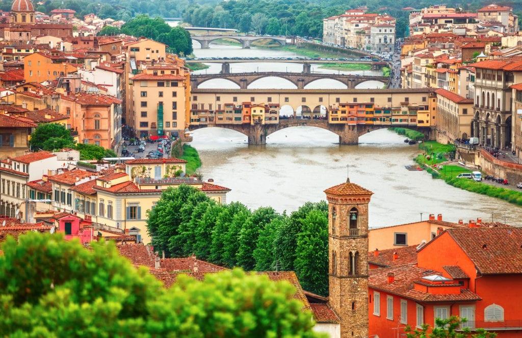 Most Ponte Vecchio, Florencja