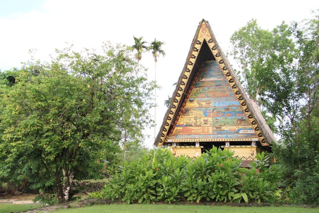 tradycyjny bai koror palau