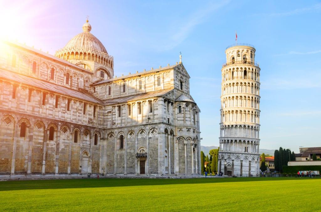 Krzywa Wieża, Toskania